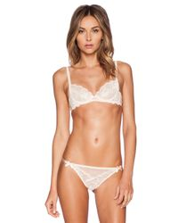 L'Agent by Agent Provocateur - Natural Mirabel Trixie - Lyst