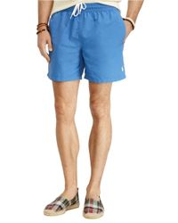 Polo Ralph Lauren | Blue Hawaiian Swim Boxers for Men | Lyst
