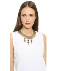 Samantha Wills - Metallic Midnight Rendezvous Collar Necklace - Antique Gold - Lyst