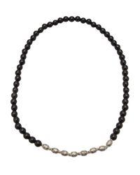 Ali Grace Jewelry | Black Beaded Ebony Necklace | Lyst