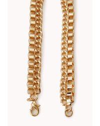 Forever 21 - Metallic Regal Bib Necklace - Lyst