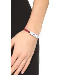 Venessa Arizaga | Red Mira Mikati Late Bracelet | Lyst