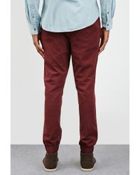 Forever 21   Purple Chino Drawstring Joggers for Men   Lyst
