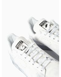 Adidas By Raf Simons | White Stan Smith Aged Sneakers for Men | Lyst