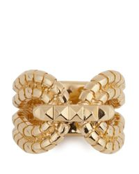 Lara Bohinc - Metallic Gagarin 18 Karat Gold Plated Ring - Lyst