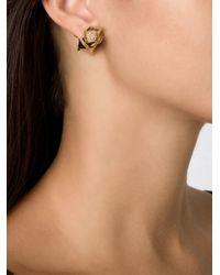 Eddie Borgo | Metallic 'rose Bud' Stud Earrings | Lyst