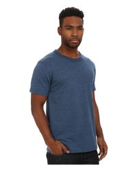 Alternative Apparel | Blue Mock Twist Nostalgia T-shirt for Men | Lyst
