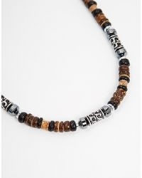 Classics 77 | Brown Falls Necklace for Men | Lyst