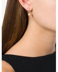 Aurelie Bidermann | Metallic 'cheyne Walk' Pearl Earrings | Lyst