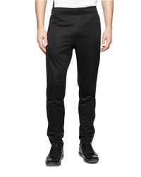 Calvin Klein | Black Tapered Track Pants for Men | Lyst