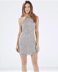 Parker - Metallic Audrey Dress - Lyst