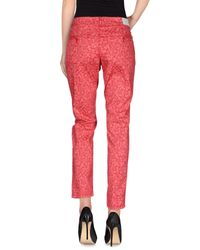 Notify | Red Casual Trouser | Lyst