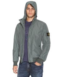 Stone Island | Gray Micro Reps Casual Jacket for Men | Lyst