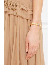 Chloé - Metallic Darcey Gold-tone Bracelet - Lyst