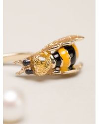 Delfina Delettrez | Yellow 'to Bee Or Not To Bee' Earring | Lyst