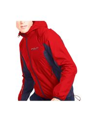 Polo Ralph Lauren   Red Polo Sport Water-resistant Windbreaker for Men   Lyst