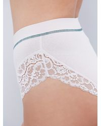 Free People | White Intimately Womens Morning Dove Undie | Lyst
