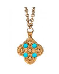 Asha | Blue Atlas Pendant, Turquoise | Lyst