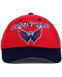 Reebok - Red Kids' Washington Capitals 2nd Season Flex Cap - Lyst