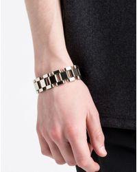 Lanvin | Metallic Bracelet for Men | Lyst