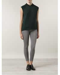FRAME - Gray Le High Skinny Cropped Jean - Lyst