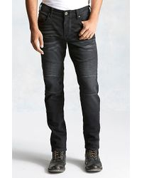 True Religion | Black Rocco Active Moto Mens Pant for Men | Lyst