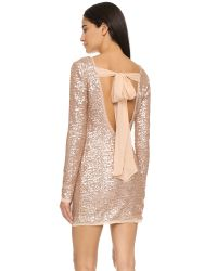 Rachel Zoe - Pink Sequin Mini Dress - Lyst