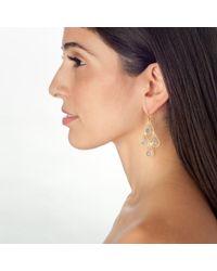 Wendy Mink | Metallic Blue Topaz Earrings | Lyst