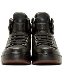 3.1 Phillip Lim - Black Pl31 Leather Sneakers for Men - Lyst