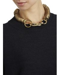 Moxham | Metallic Xeno Gold Plated Chain Necklace | Lyst