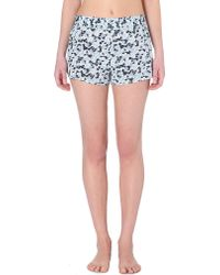 Stella McCartney | Blue Ellie Leaping Pyjama Shorts | Lyst