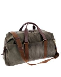 J.Crew | Green Abingdon Weekender Bag for Men | Lyst