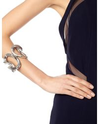 Annelise Michelson | Metallic Silver Large Chain Link Cuff | Lyst