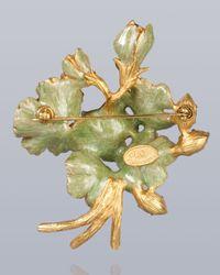 Jay Strongwater | Multicolor Jocelyn Geranium Pin | Lyst