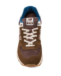 New Balance | Ml574 in Brown for Men | Lyst