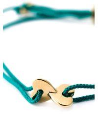 Marc By Marc Jacobs - Green Heart Charm Bracelet - Lyst