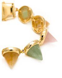 Eddie Borgo - Metallic Cones Bracelet - Lyst