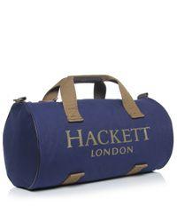 Hackett Blue Kit Duffle Bag for men