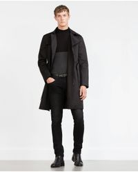 Zara | Black Color Block Sweater for Men | Lyst