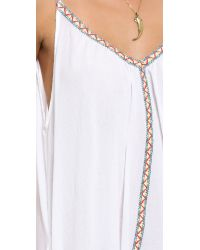 9seed - Antibes Cover Up Dress - White - Lyst