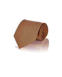 Brioni | Orange Men's Floral Satin Necktie for Men | Lyst