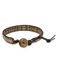 M. Cohen - Metallic Stamped Thai Bracelet for Men - Lyst
