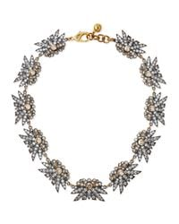 Lulu Frost | Metallic Larkspur Crystal Collar Necklace | Lyst