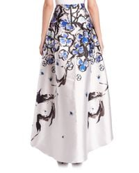 Sachin & Babi - Blue Avalon Flower-print Hi-lo Skirt - Lyst