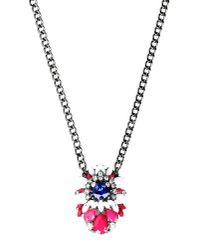 Stefanel - Pink Necklace - Lyst