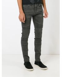 Diesel Black Gold - Black 'type 255' Skinny Jeans for Men - Lyst