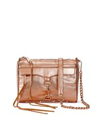 Rebecca Minkoff | Metallic Made in Nyc Mini Mac | Lyst