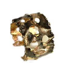 Sibilla G Jewelry | Metallic Sibilla G Octavia Gold Camo Fashion Bracelet | Lyst