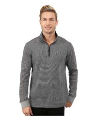 Robert Graham | Gray Comstock Long Sleeve Knit Pullover for Men | Lyst