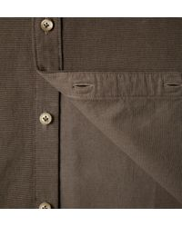 Onassis Clothing | Brown Corduroy Shirt for Men | Lyst